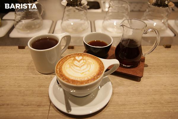 도쿄 카페 벌브_커피 메뉴