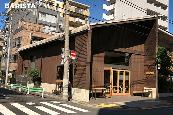 도쿄카페 올프레스 건물