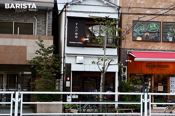 도쿄 카페_스미다 외부